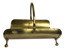 Image of Brass Firewood Holders