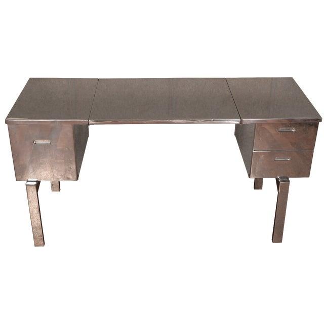 WWII Aluminum Campaign Desk - Image 1 of 11