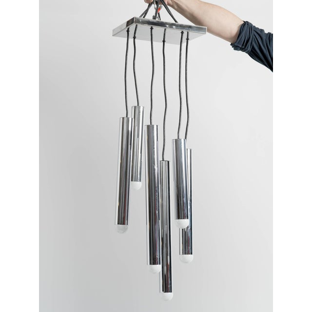 1970s 1970s Cascading Pendant Chandelier by Staff, Germany For Sale - Image 5 of 7