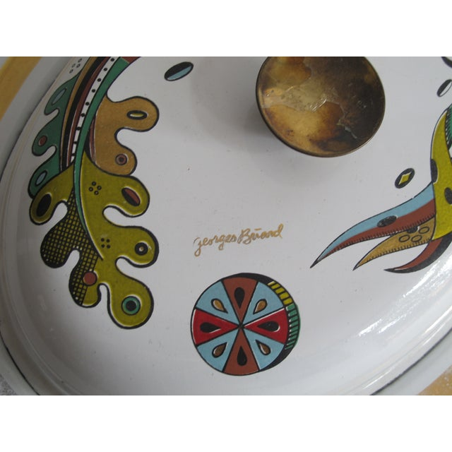 Georges Briard Lidded Dish - Image 5 of 6