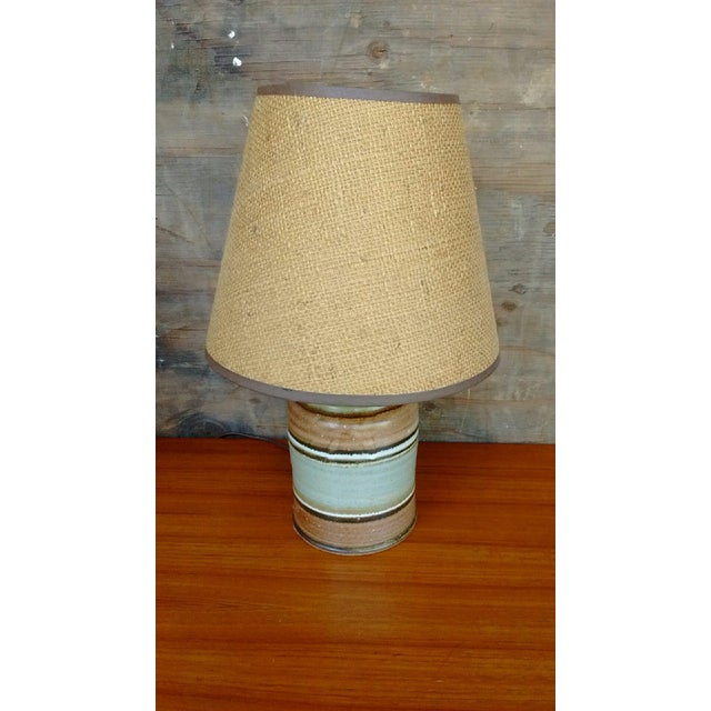 Mid-Century Ceramic Table Lamps - A Pair - Image 3 of 4