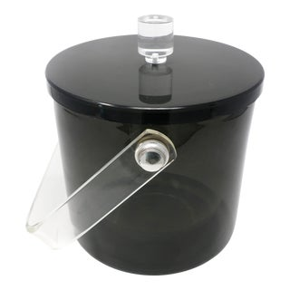 Smoked Acrylic Ice Bucket For Sale