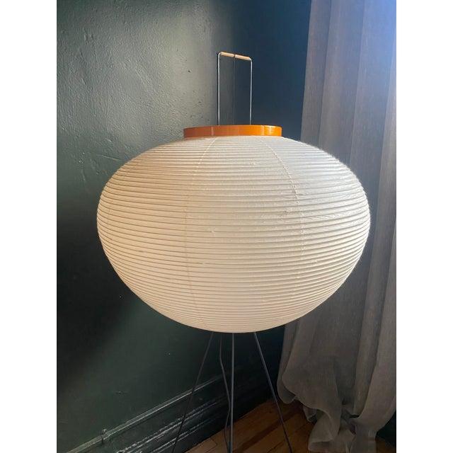 Japanese Isamu Noguchi 10a Floor Lamp For Sale - Image 3 of 5