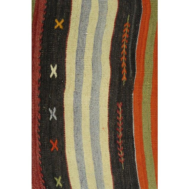 """Textile Vintage Turkish Kilim Runner-2'x12'11"""" For Sale - Image 7 of 13"""