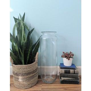 Late 20th Century Vintage Blenko Transparent Blown Glass Floor Vase Preview