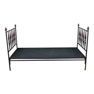 Final Markdown Don Ruseau Inc. Mahogany and Iron Sheraton Daybed