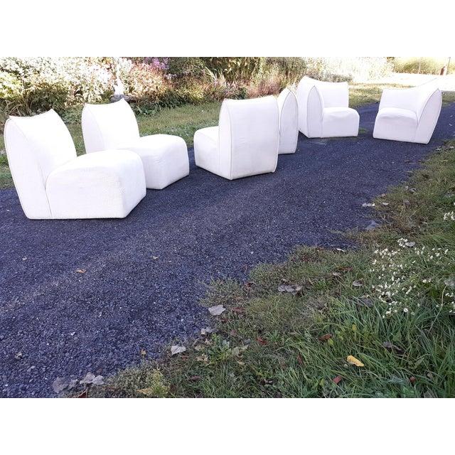 Mario Bellini for B&b Italia Le Bambole 6 Piece Sectional Sofa For Sale - Image 12 of 13