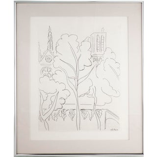 Henri Matisse, La Cite–Notre-Dame, Etching, 1937 For Sale