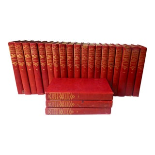 1909 Antique Little Masterpieces Books - 33-Volume Set For Sale