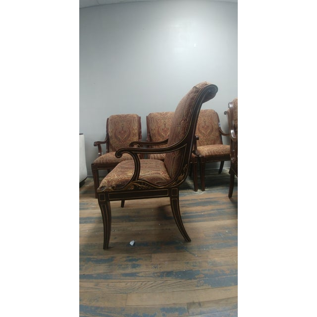 Henredon Furniture Osterley Manor Mahogany Dining Chairs ...