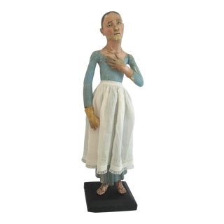"""Lady of Sorrows"" 19th Century Santo Figure"