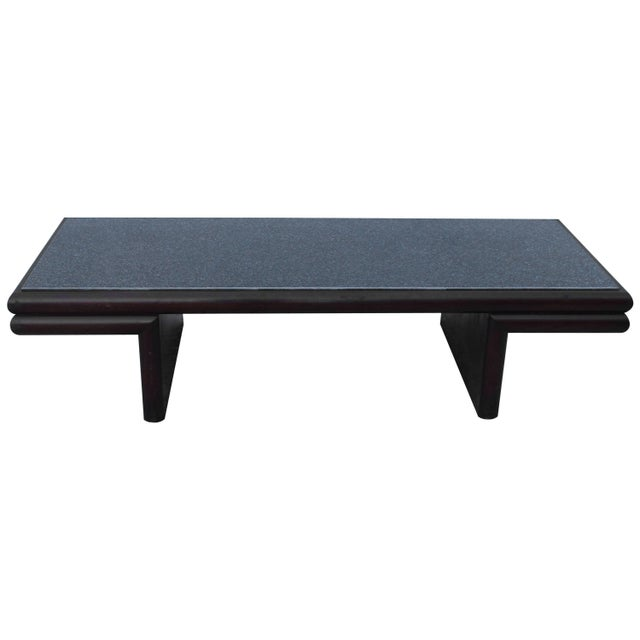 Harvey Probber Resin Top Modernist Coffee Table For Sale - Image 11 of 11