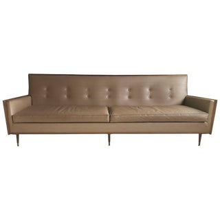 Classic Mid-Century Modern Sofa After Paul McCobb For Sale