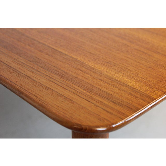 Danish Modern Finn Juhl Teak Side Table For Sale - Image 3 of 7