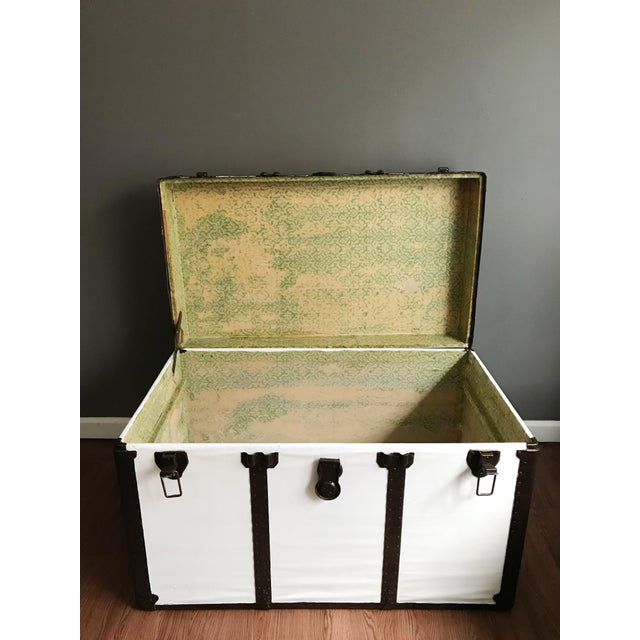 Vintage Steamer Trunk Table - Image 7 of 8