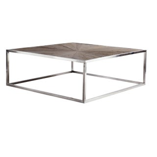 Contemporary Piedmont Collection Reclaimed Elm Coffee Table For Sale