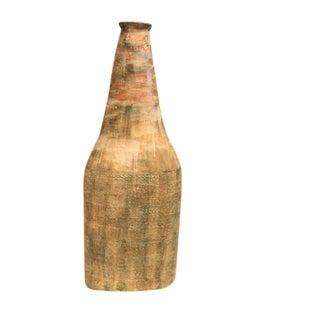 Abstract Primitive Ceramic Sculpture For Sale