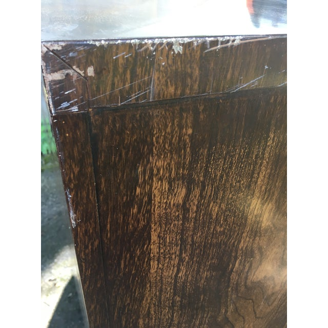 Mid 20th Century Vintage Steelcase Wood - Grain Finish Four Drawer Filing Cabinet For Sale - Image 5 of 8