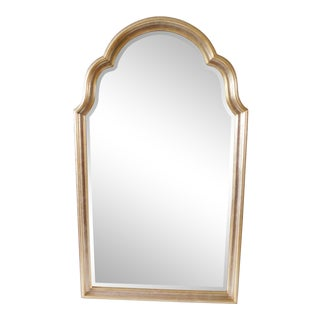 Fabulous Vintage Gold and Silver Leaf La Barge Wall Mirror For Sale