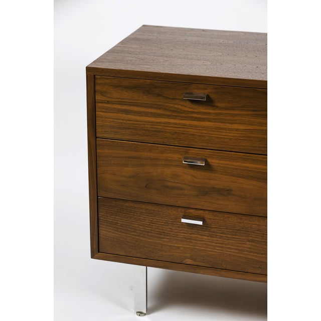 Mid-Century Harvey Probber Walnut Credenza For Sale - Image 5 of 9