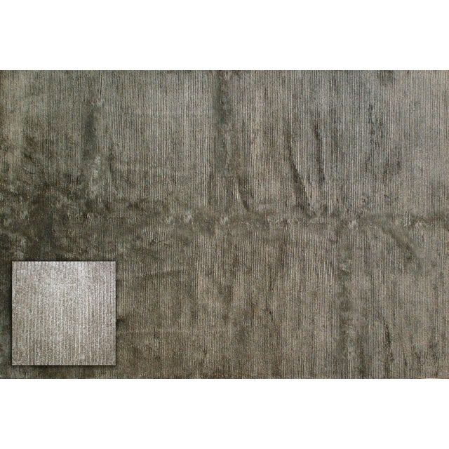 Stark Studio Rugs Contemporary New Oriental Indo Tibetan Wool Rug - 6′ × 9′ For Sale