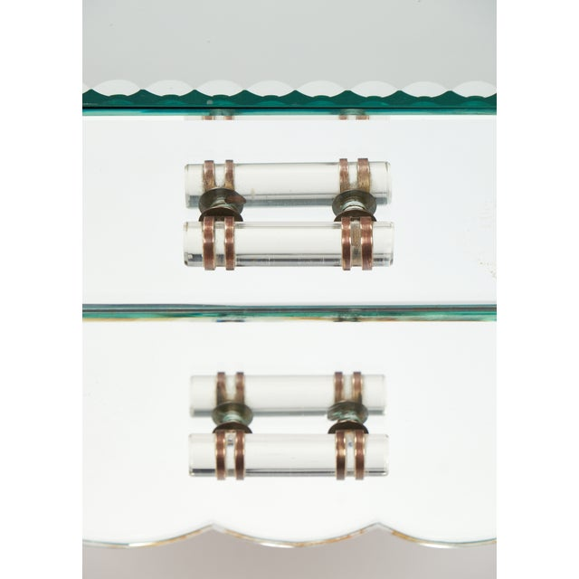 French Art Deco Mirrored Side Tables - A Pair - Image 8 of 10
