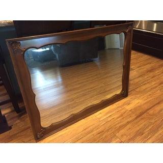 Vintage Wood Framed Mirror Preview