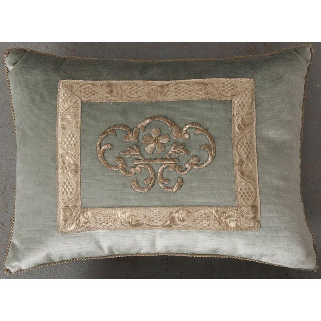 Antique Textile Pillow By B.Viz Designs - Image 4 of 8