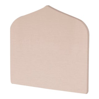 The Crown Headboard - Queen - Charlotte - Como, Blush For Sale