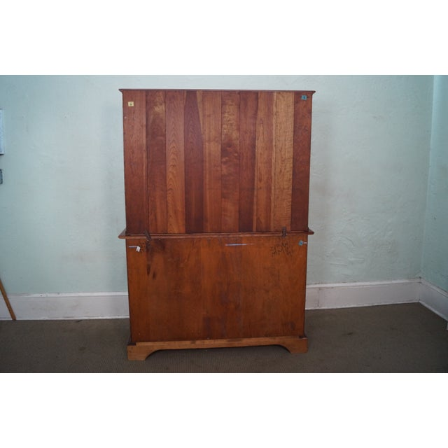 Stickley Vintage Cherry Open Hutch Cupboard - Image 4 of 10