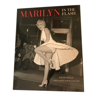 """""""Marilyn in the Flash"""" Coffee Table Book by David Wills For Sale"""