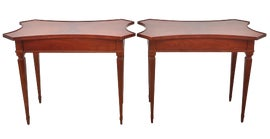 Image of French Provincial Side Tables