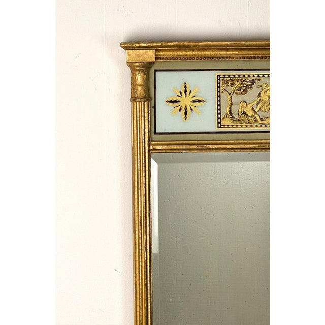 Traditional English Regency Pier Mirror, Circa 1810 For Sale - Image 3 of 5