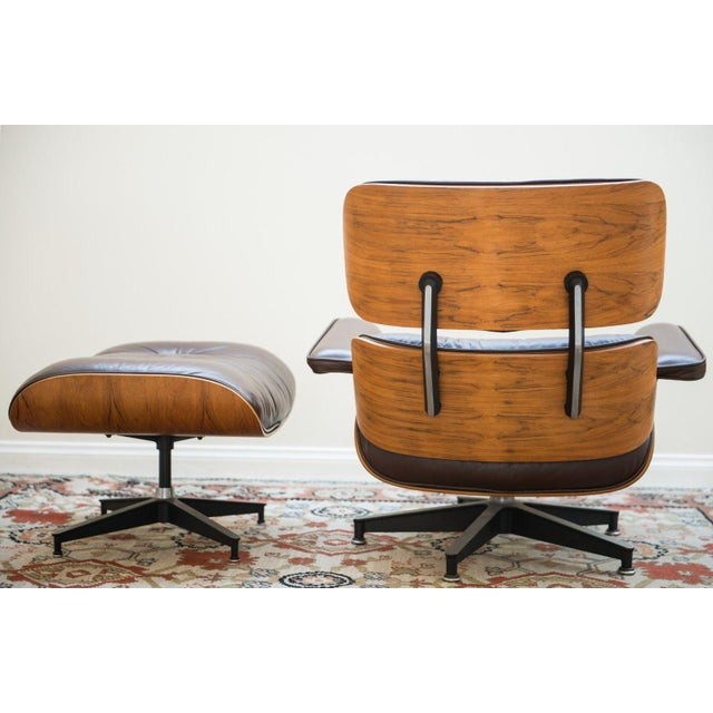 Brown Herman Miller Eames Lounge Chair For Sale - Image 8 of 10