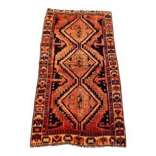 Mid 20th Century Antique Persian Rug-4 X 7 For Sale