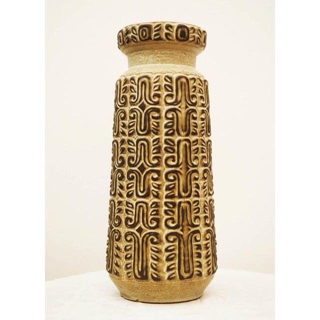 Large Austrian floor vase, 1960s For Sale - Image 6 of 6