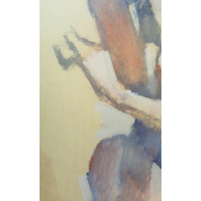 Vintage Original Impressionist Figure Painting - Image 3 of 5