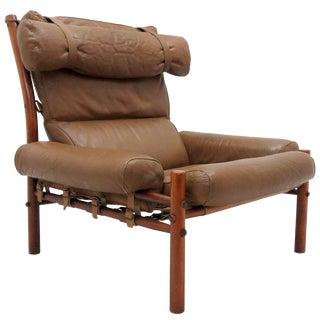 1960s Arne Norell Easy Chair Model Inca