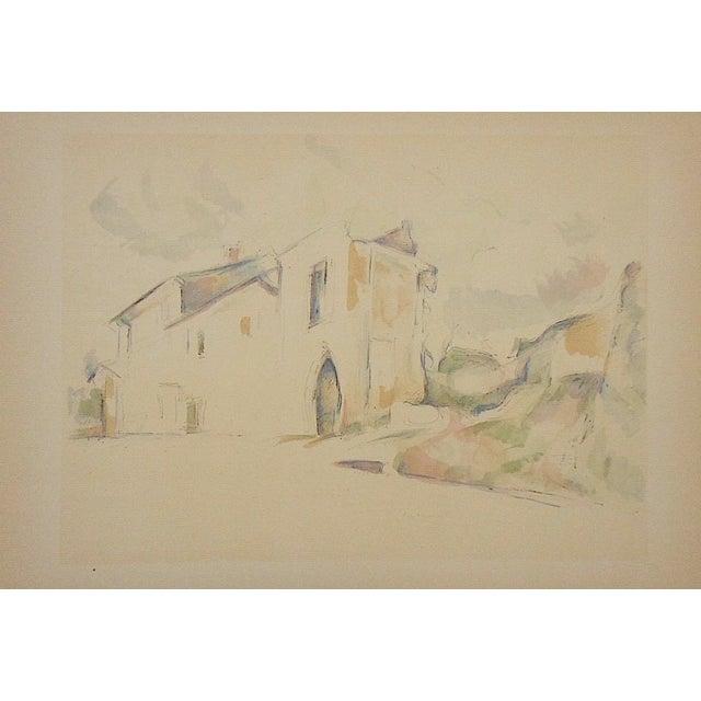 Vintage Paul Cezanne Screenprint For Sale