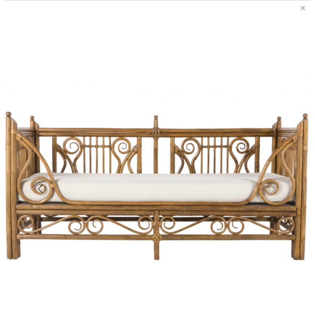 Ralph Lauren 1980s Vintage Rattan/Bamboo Daybed by Ralph Lauren For Sale - Image 4 of 5