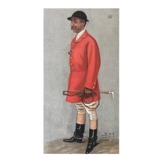 Original Vanity Fair Foxhunter Print, Viscount Galway, 1899