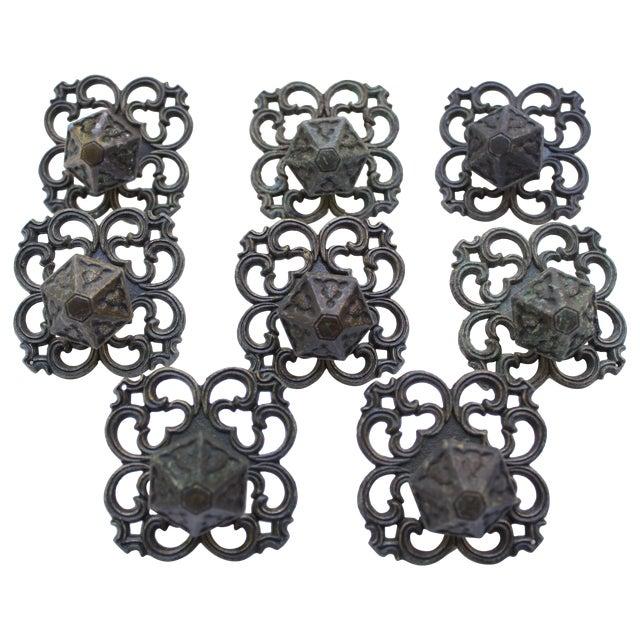 Mid Century Drawer Knobs - Set of 8 - Image 1 of 4