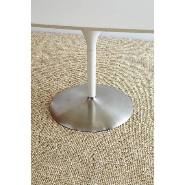 Contemporary Eero Saarinen Oval Tulip Table For Sale - Image 12 of 13