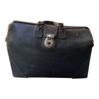 Vintage Leather Doctor's Bag For Sale