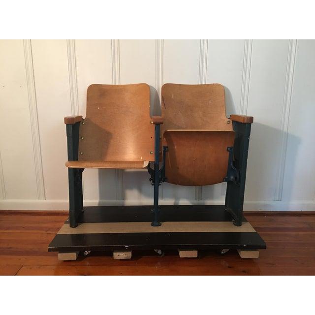 Lucky #17 Folding Stadium Seats - a Pair | Chairish