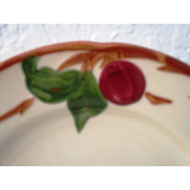 Franciscan Apple Dinner Plates & Coupe Bowls - Set of 12 For Sale - Image 5 of 9