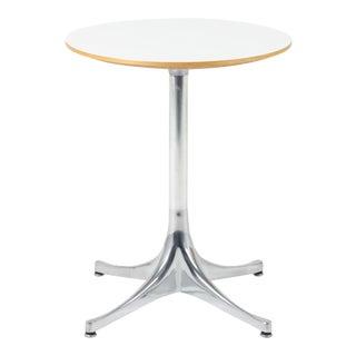 Vintage George Nelson Herman Miller Pedestal Side Table For Sale