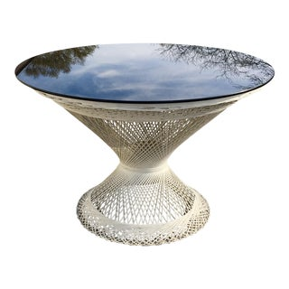 1950s Boho Chic Russell Woodard Spun Fiberglass Table For Sale
