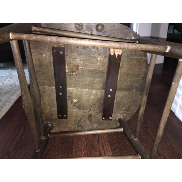 Early American Antique Side Chair - Image 9 of 10