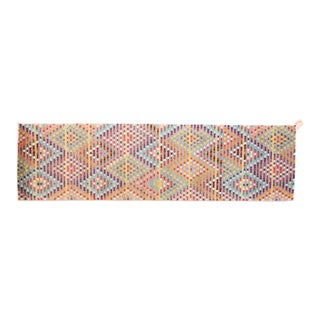 Vintage Safavieh Monaco Multi-Colored Bohemian Polka Dot Runner- 2′ × 8′ For Sale